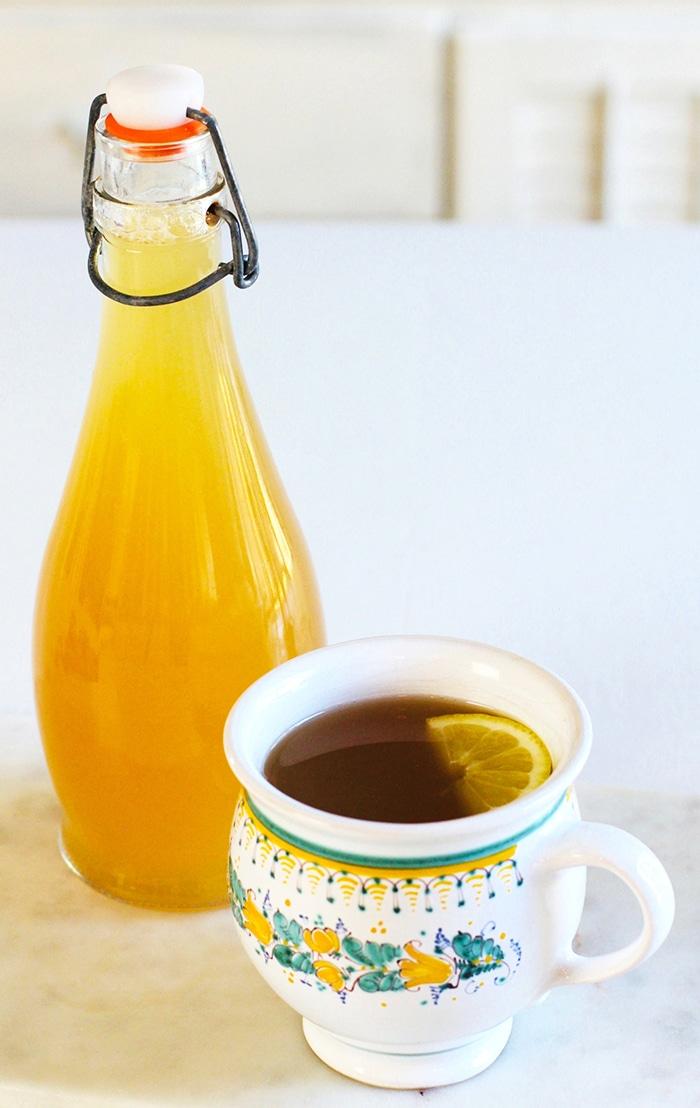 lemon recipes lemon turmeric ginger tea