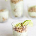 easy avocado yogurt breakfast parfait