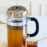 Turmeric Ginger Tea Recipe with cinnamon and lemon