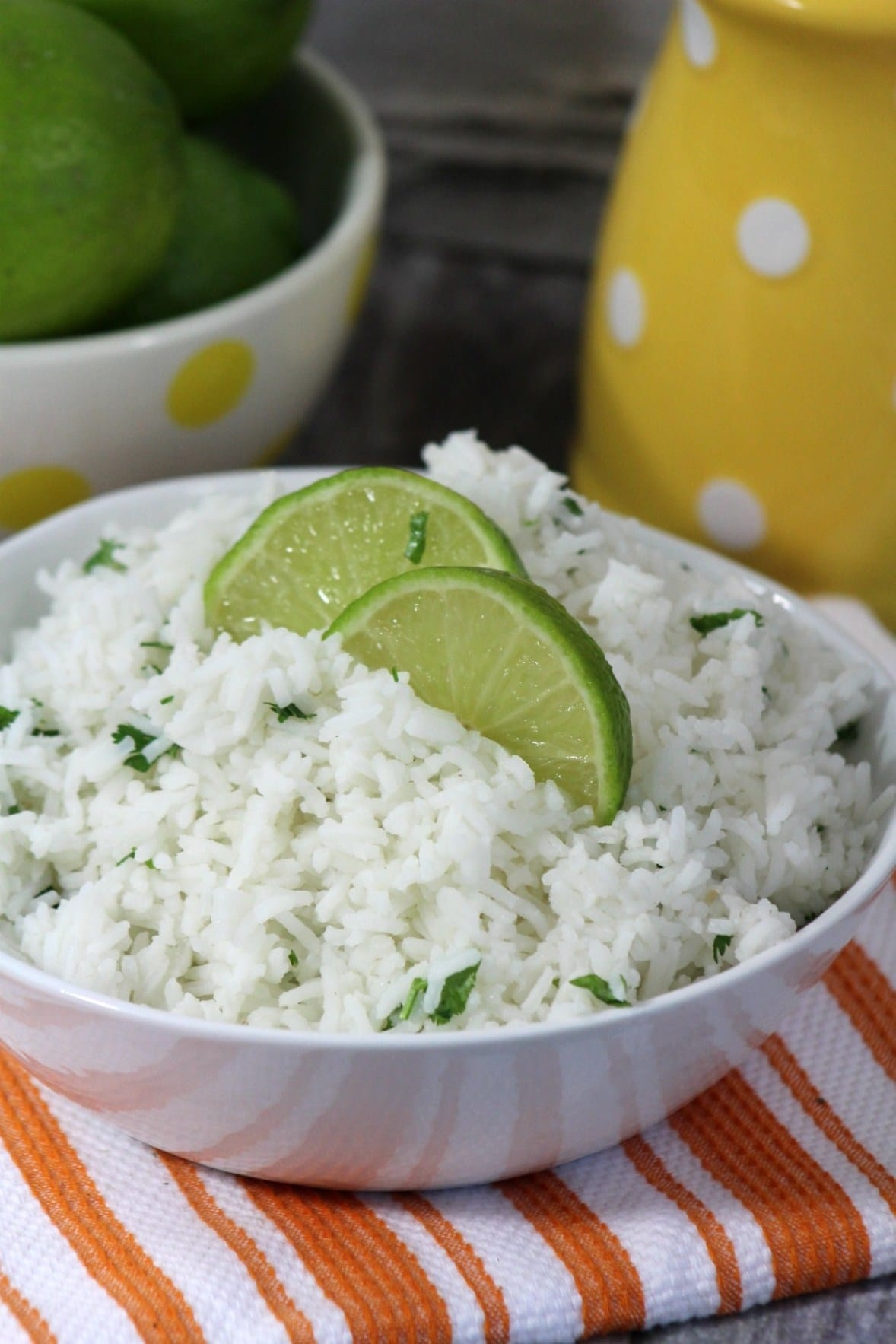 15 Lime Recipes Everyone Will Love- Cilantro lime rice