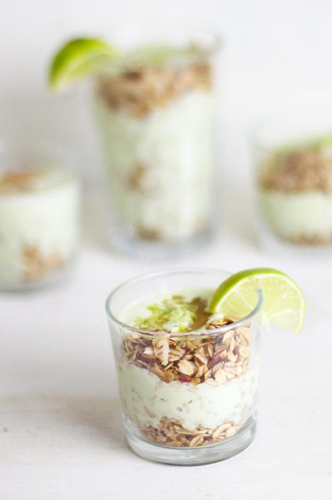 15 Lime Recipes Lime Avocado Yogurt Breakfast Parfait