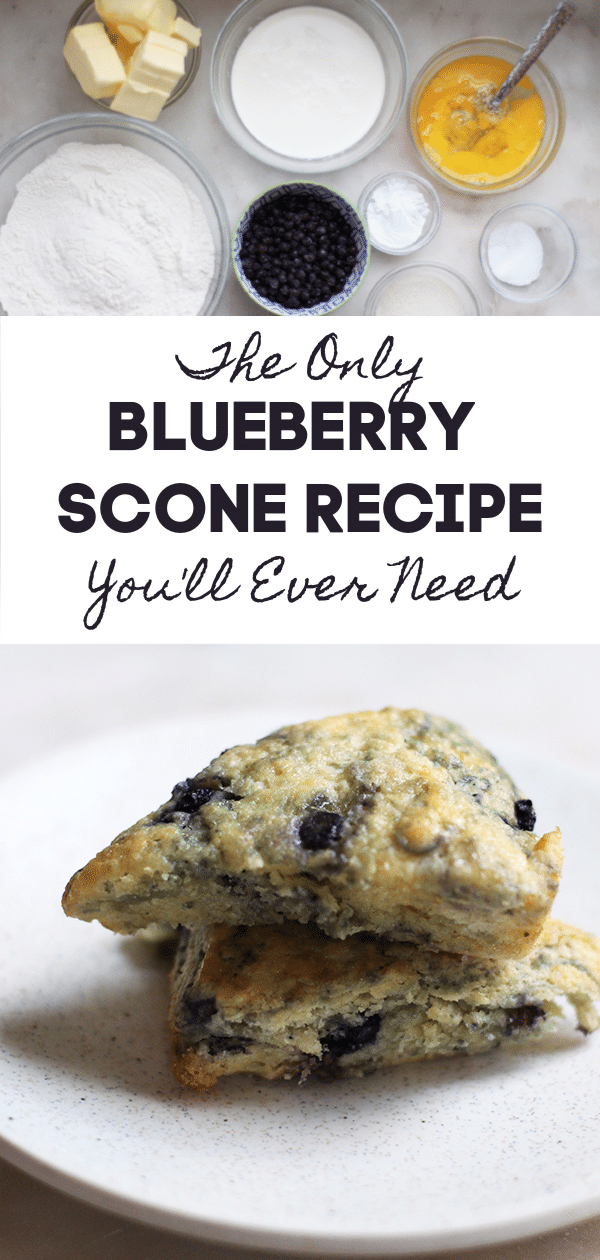The Only Blueberry Scone Recipe You Need - Rainbow Delicious