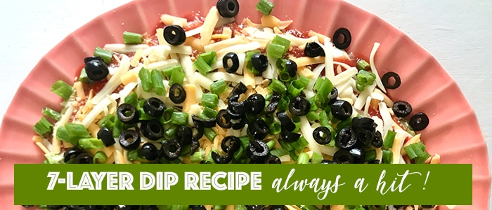 easy 7 layers dip