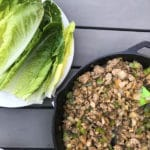Easy Cashew Chicken Lettuce Wraps Recipe