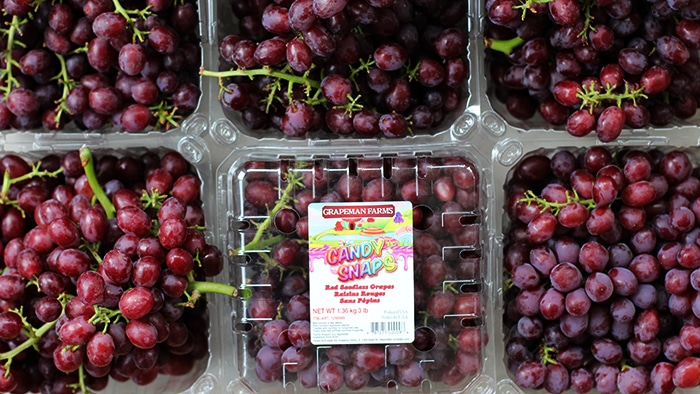 Candy Snaps® Grapes with Sour Cream and Brown Sugar - Grapes in Costco
