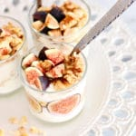 fig and honey breakfast parfait