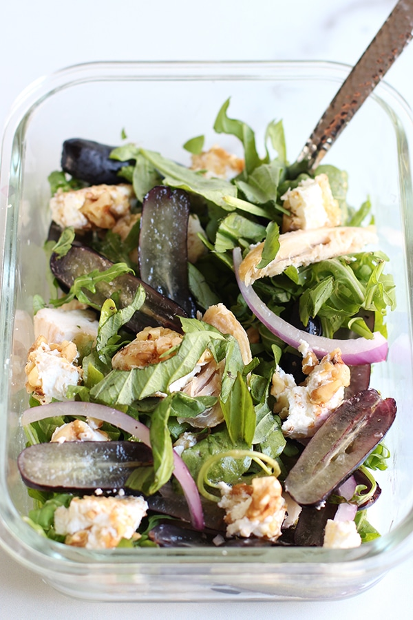 Meal Prep Salad Mixed Recipe on Rainbow Delicious