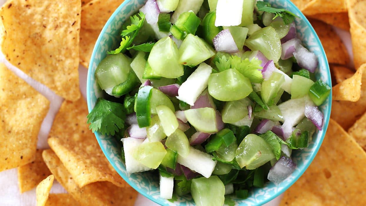 Green Grape Salsa Recipe