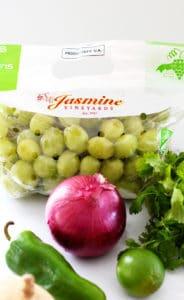 Grape Salsa Recipe Ingredients