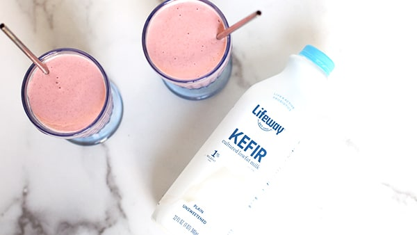Raspberry Walnut Kefir Smoothie Great Way to Start Day