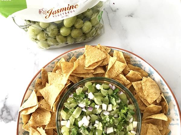 Jasmine Vineyards Grape Salsa Recipe