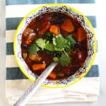 yummy butternut squash chili vegetarian