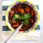 butternut squash chili vegetarian