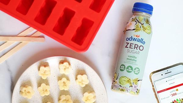 Matcha Banana Ice Pops Ingredients