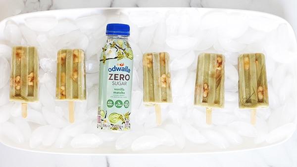 Matcha Banana Ice Pops Recipe Rainbow Delicious