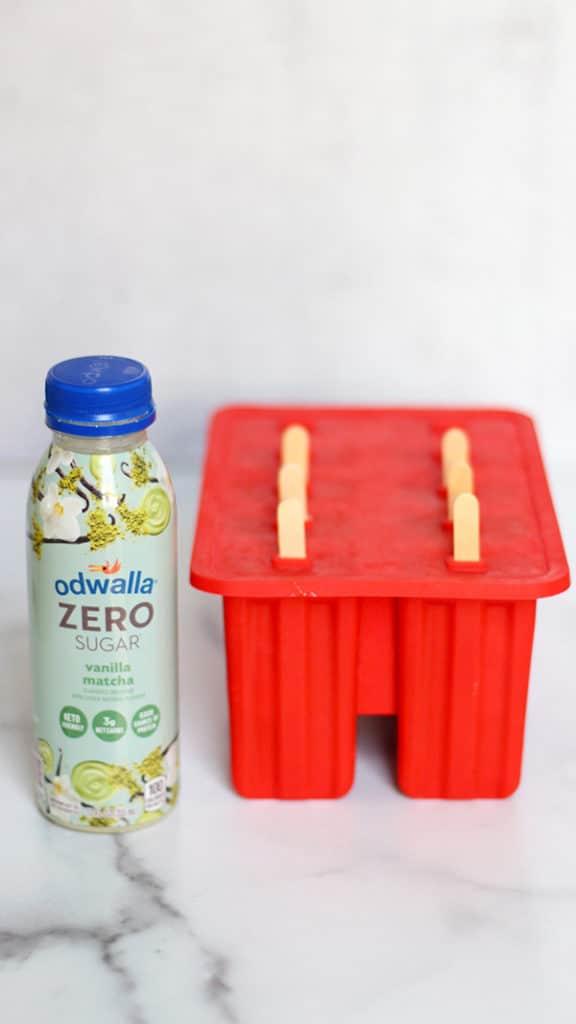Matcha Banana Ice Pops Simple Recipe