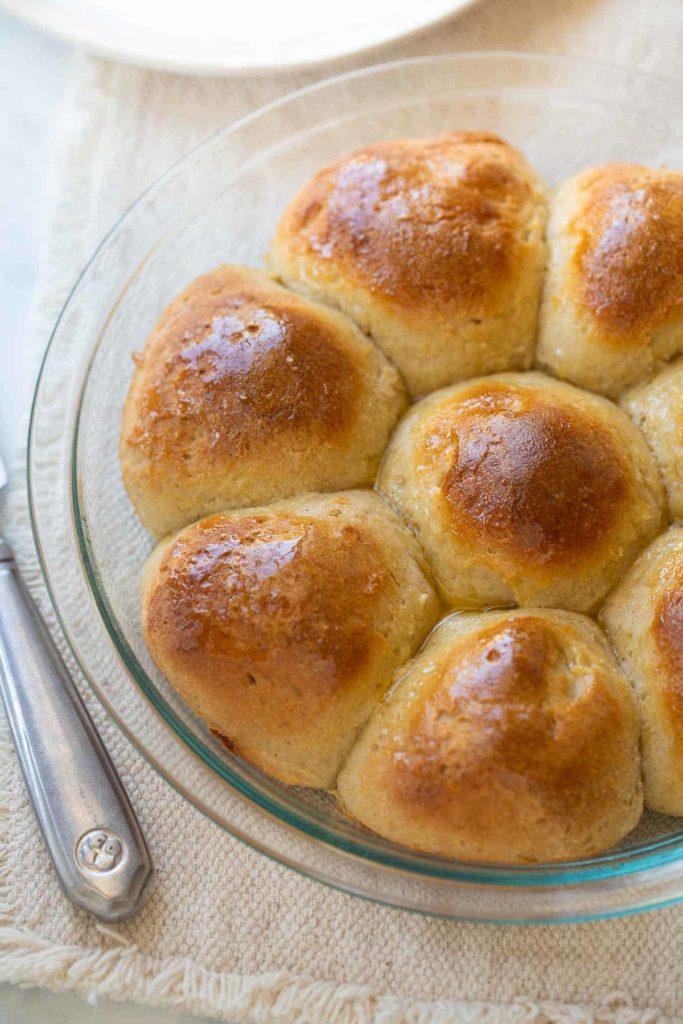 Vegetarian Thanksgiving Menu Bread Rolls