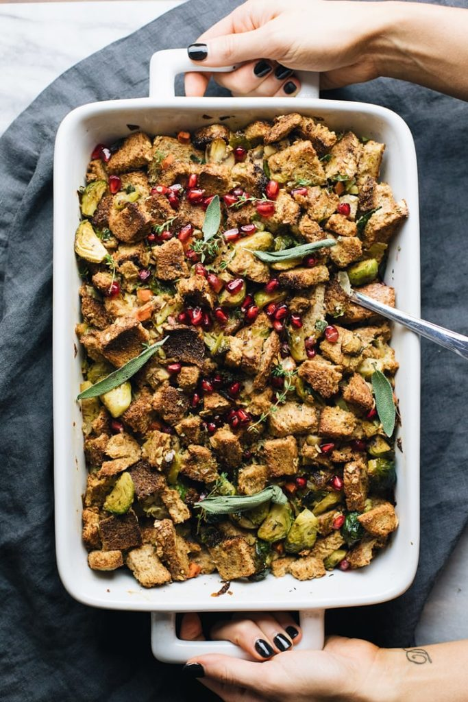 Vegetarian Thanksgiving Menu Stuffing