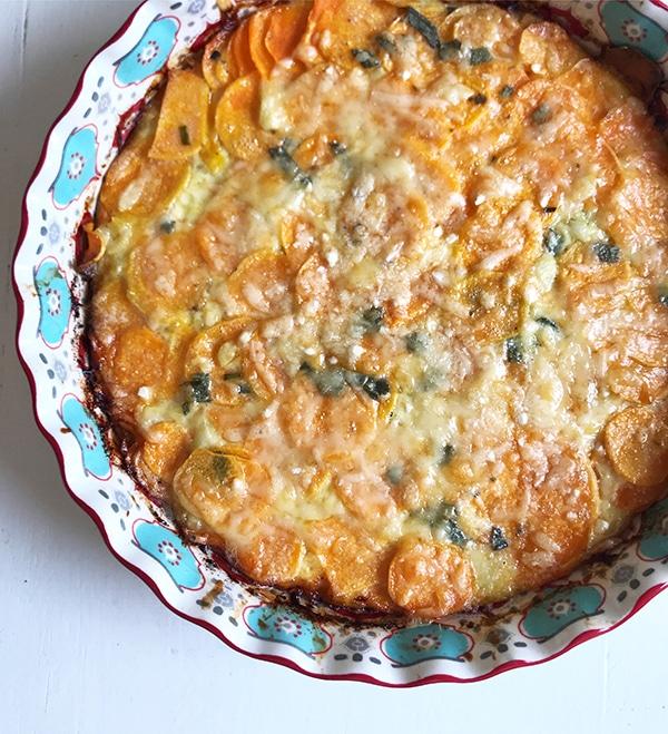 Vegetarian Thanksgiving Menu Sweet Potato Grain