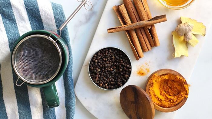 Easy Golden Milk Latte Recipe Ingredients