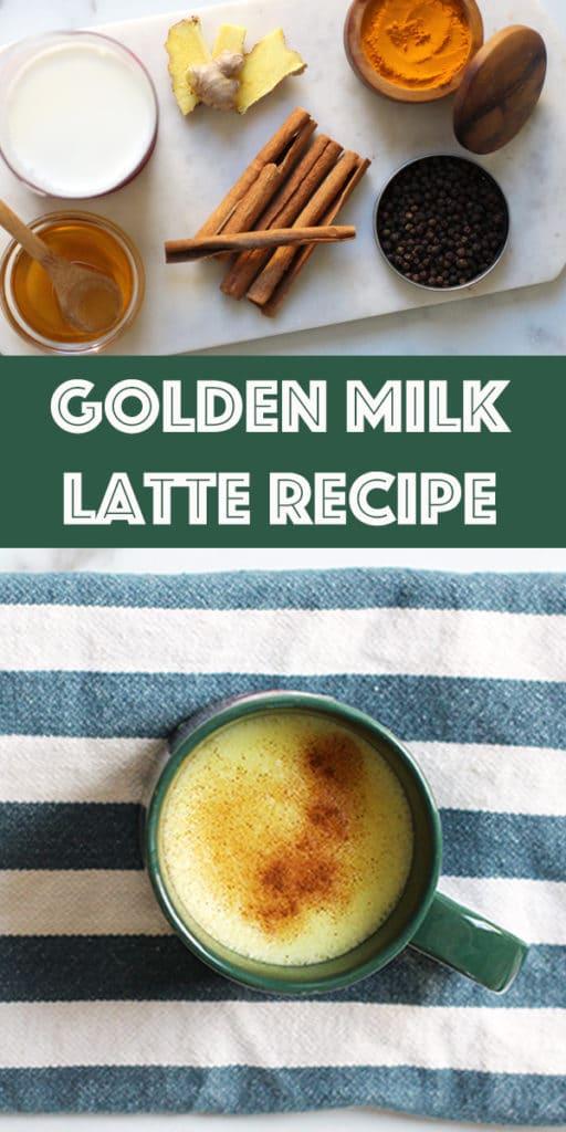 Easy Golden Milk Latte Recipe RainbowDelicious