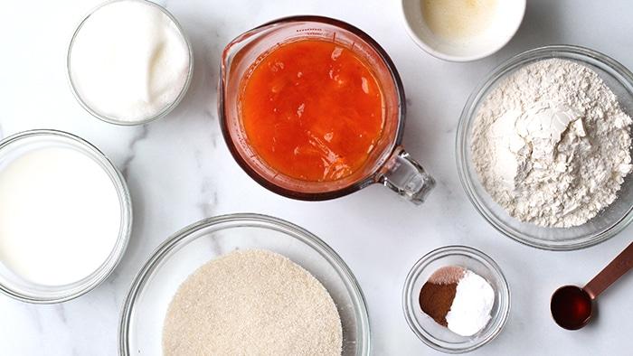persimmon pudding recipe ingredients