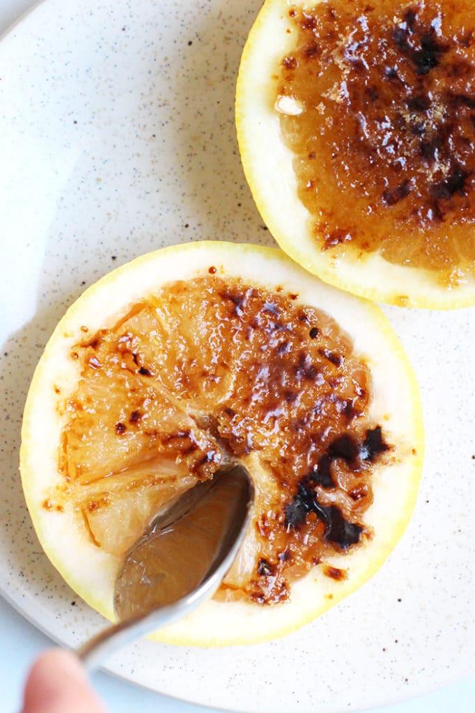 Brûléed Grapefruit Simple Recipe