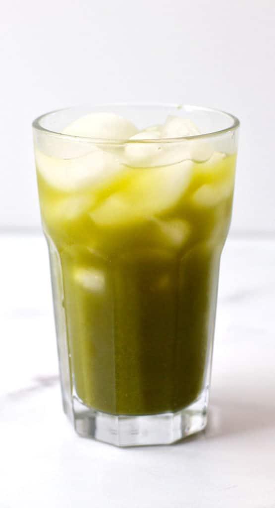 Matcha Lemonade Recipe with Honey
