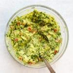 cilantro guacamole Rainbow Delicious