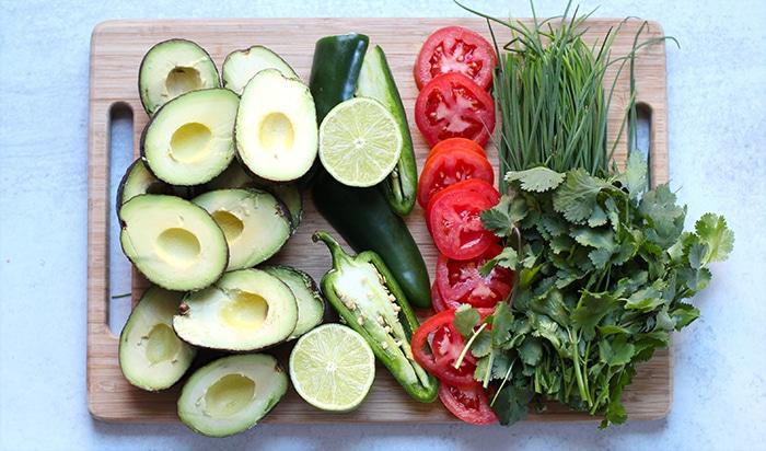 cilantro guacamole recipe ingredients