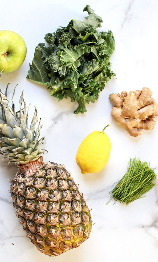 pineapple smoothie ingredients