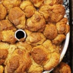 Monkey Bread Recipe Just Out of Oven