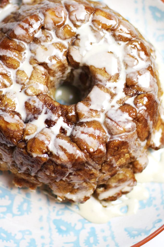 monkey bread recipe with icing