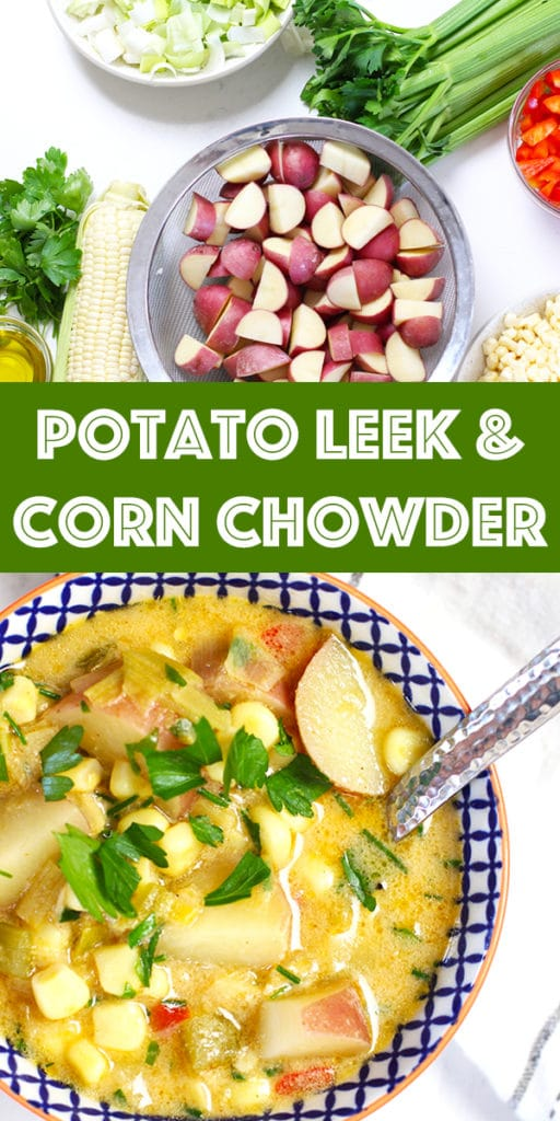 Corn Chowder | Rainbow Delicious