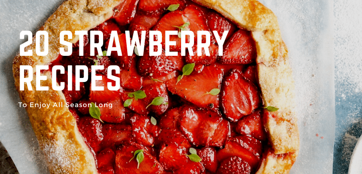 20 Strawberry Recipes 1