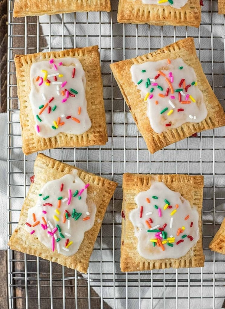 Strawberry Recipes Strawberry Pop Tarts from Chisel and Fork