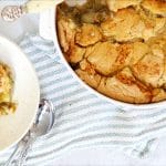 easy peach cobbler recipe Featured Image