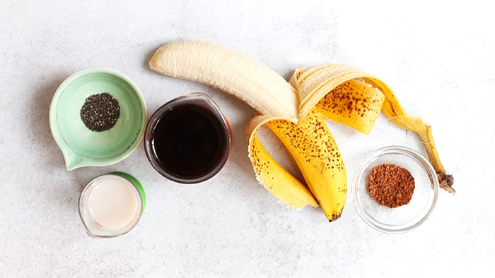 cold brew coffee banana smoothie ingredients