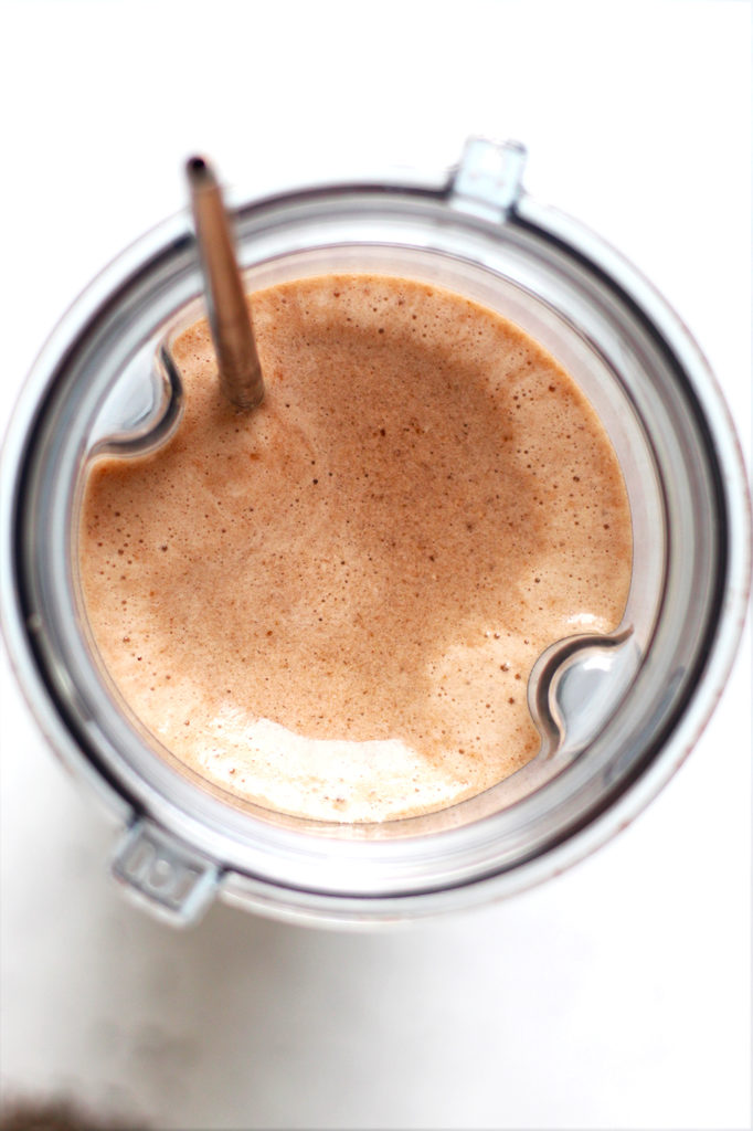 cold brew coffee banana smoothie