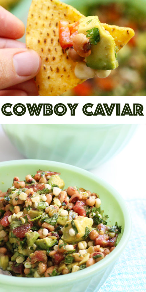 cowboy caviar, simple easy recipe