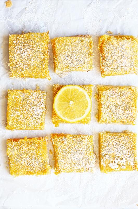 Classic Lemon Bars Recipe