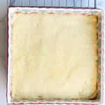 Classic Lemon Bars Cooked Shortbread Crust
