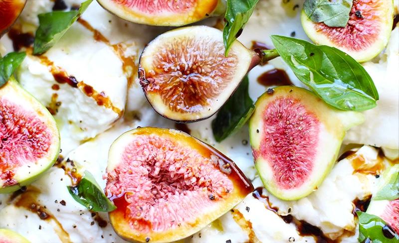 Fig Burrata Caprese