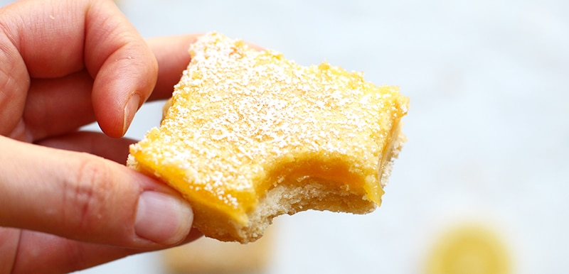 Classic Lemon Bars | Rainbow Delicious