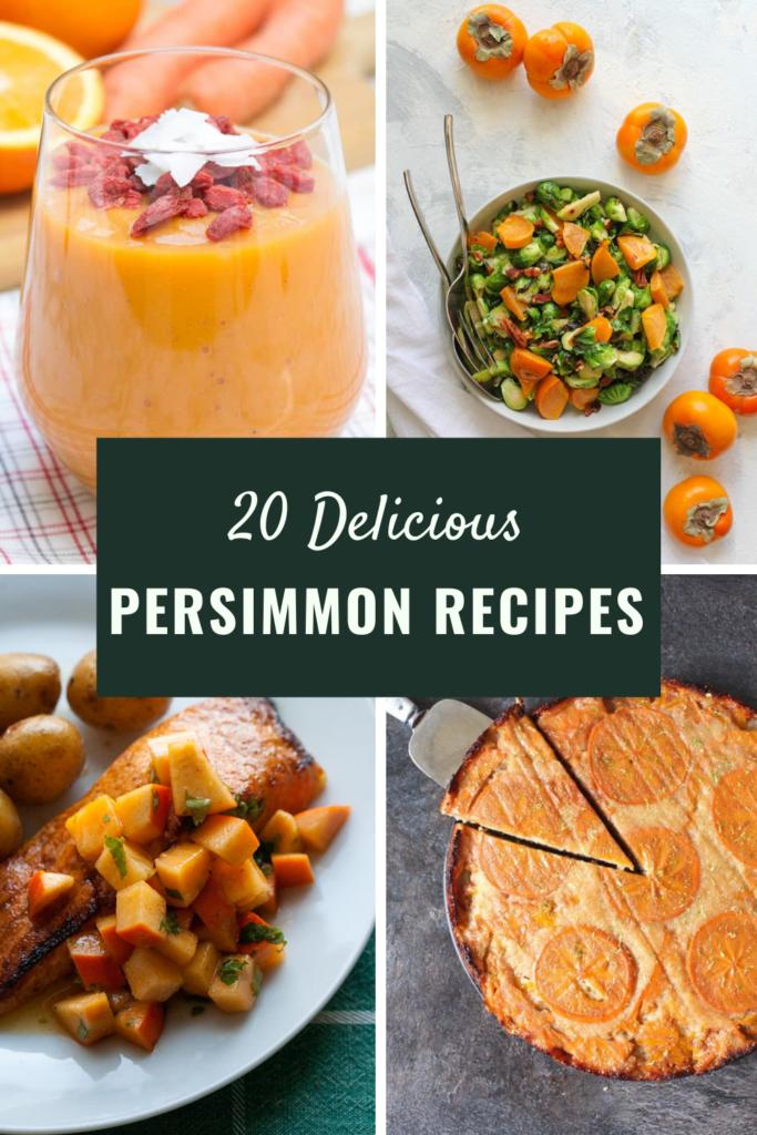 Persimmon Recipes Round Up
