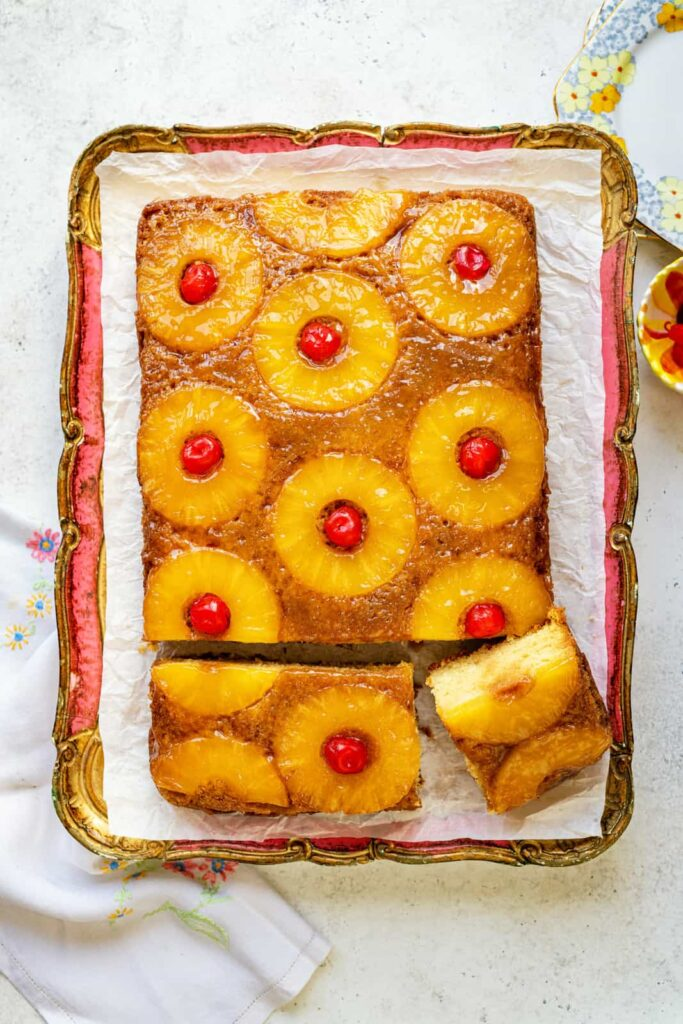Upside Down Cakes Pineapple Upside Down Cake