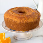 sour cream orange cake recipe
