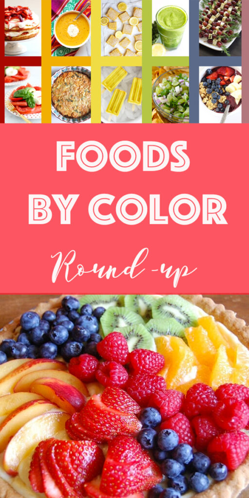 Foods by Color Recipe Index