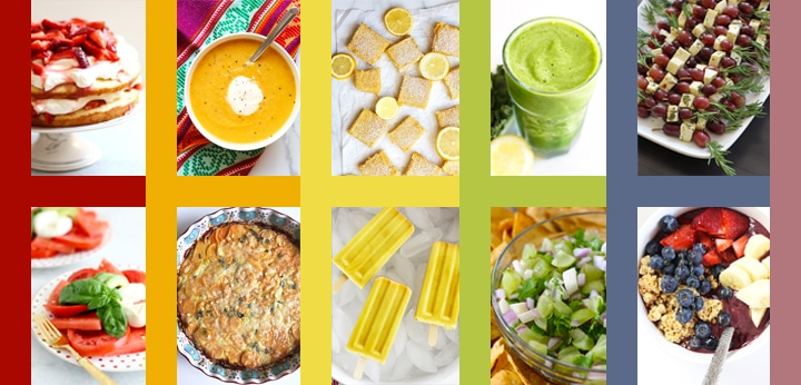 Foods by Color with HOrizontal