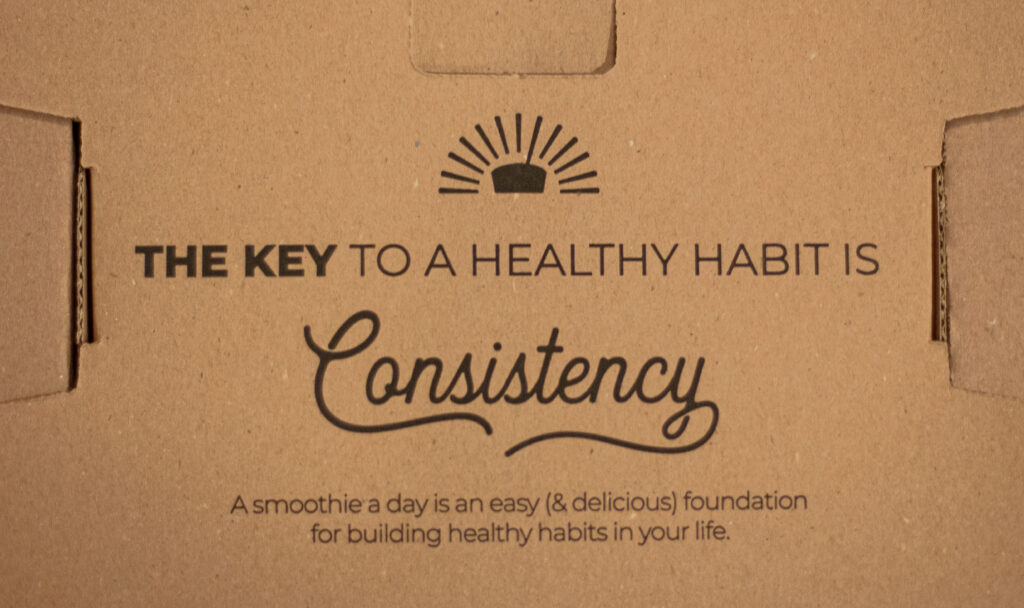 SmoothieBox Discount Code Review Consistency is Key